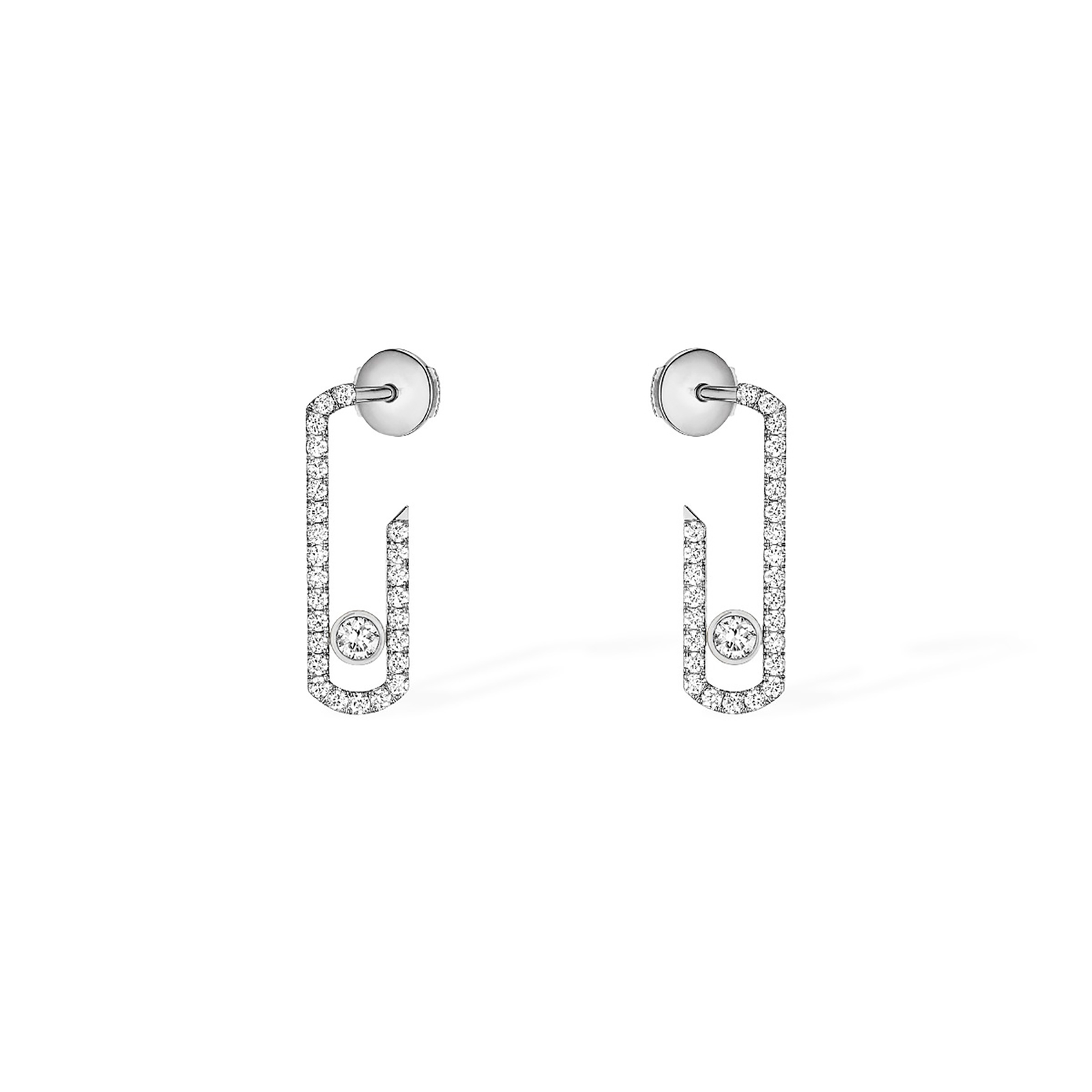 Messika Move Addiction Diamond Pave Earrings