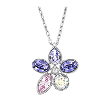 Swarovski Heritage Mini 1179745 Swarovski Crystal Metal Necklace