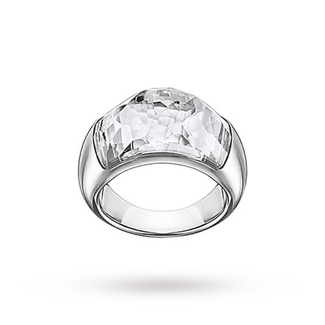 For Her - SWAROVSKI Dome Ring - Ring Size Small - 5184247