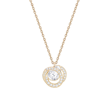 SWAROVSKI Jewellery Ladies' Rose Gold Plated Generation Necklace