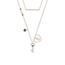 SWAROVSKI Jewellery Ladies' Rose Gold Plated Necklace