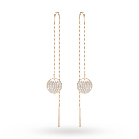 For Her - SWAROVSKI Rose Gold Plated Ginger Earrings - 5253285