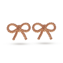 Olivia Burton Vintage Bow Earrings Rose Gold