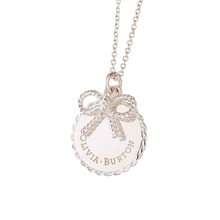 Olivia Burton Coin and Bow NecklacesSilver
