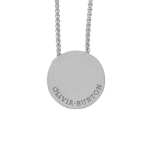 Olivia Burton Disc Necklaces Silver