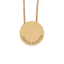 Olivia Burton Disc Necklaces Gold
