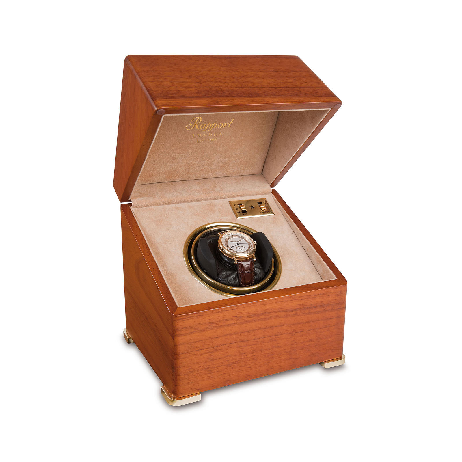 Rapport Satin Mono Watch Winder