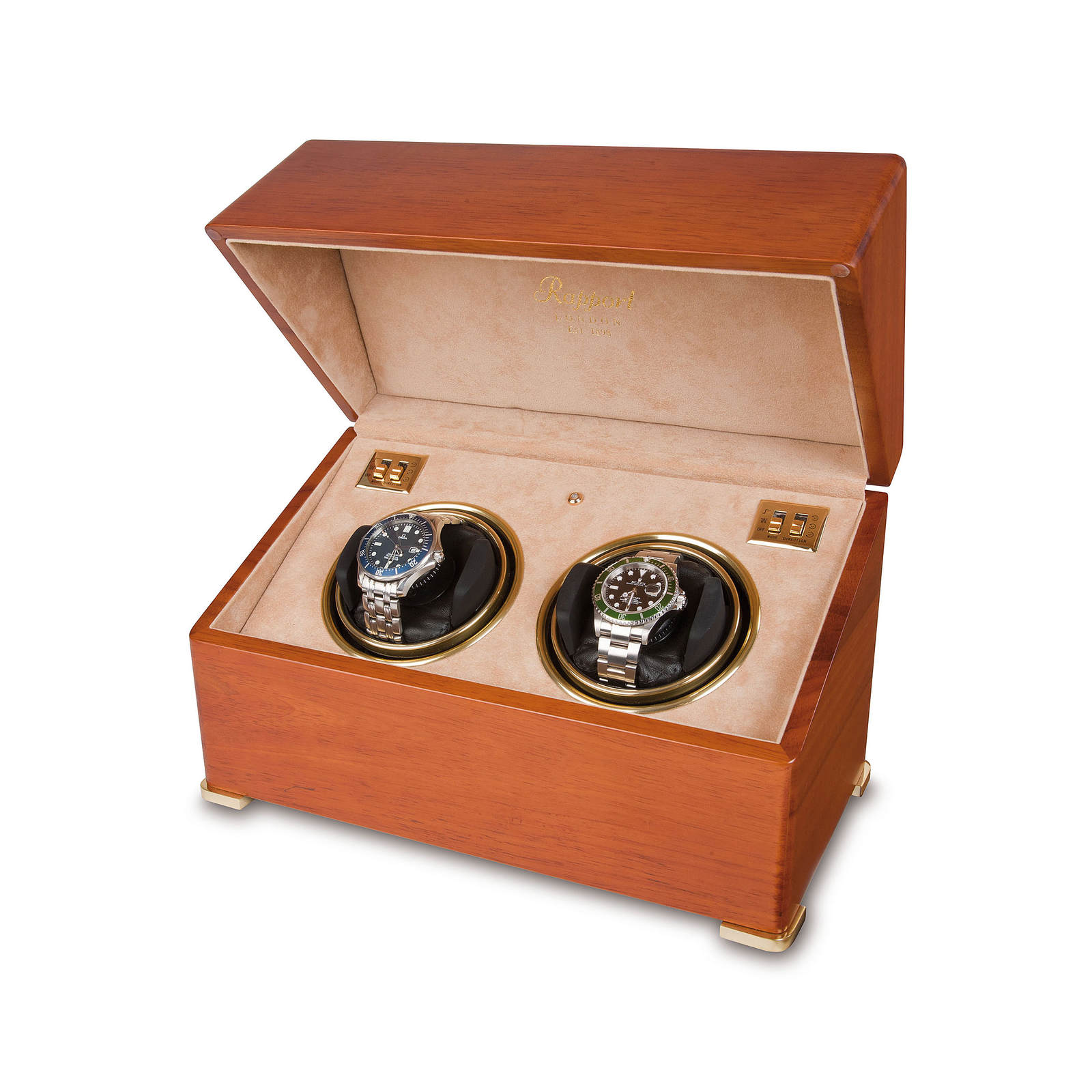 Rapport Satin Duo Watch Winder