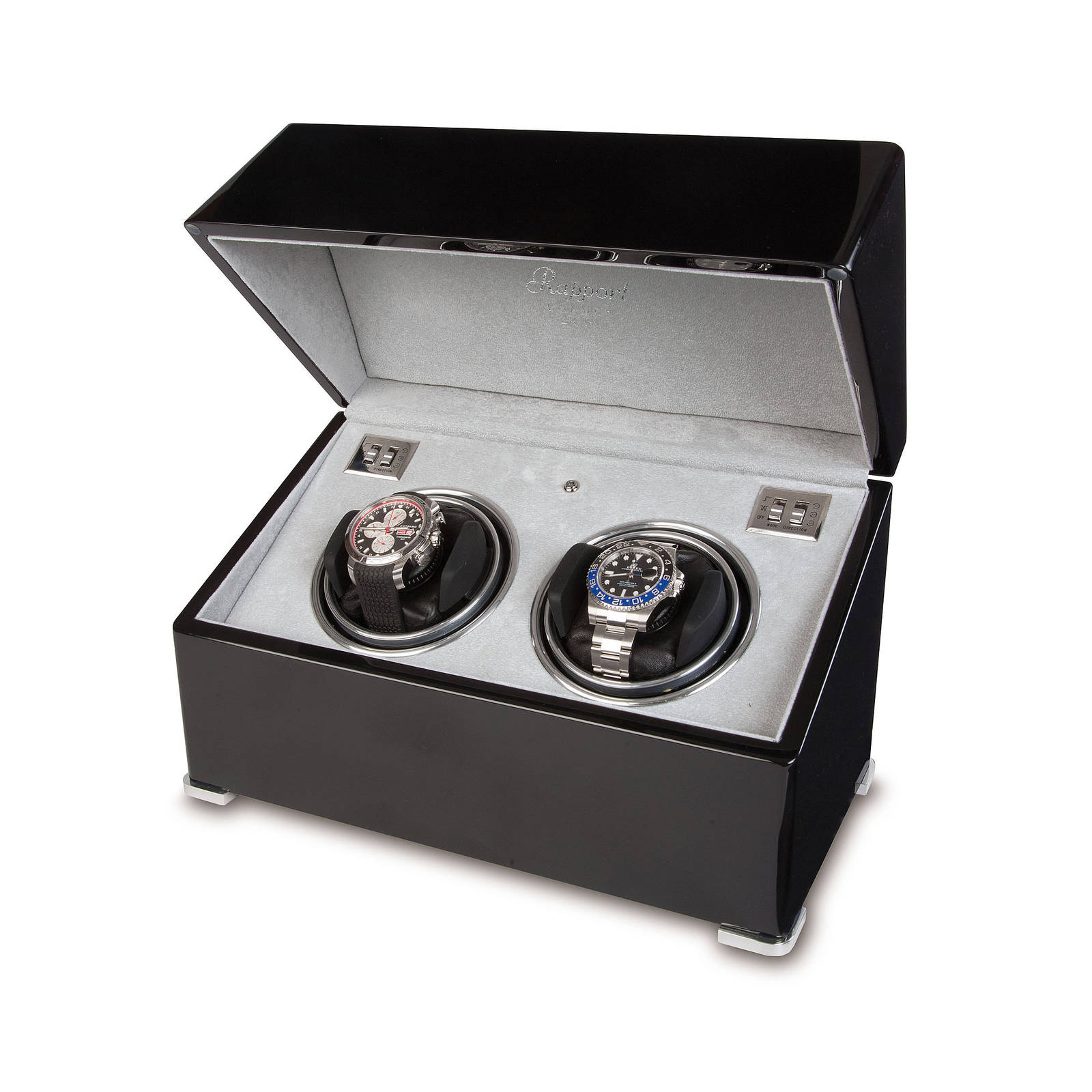Rapport Ebony Duo Watch Winder