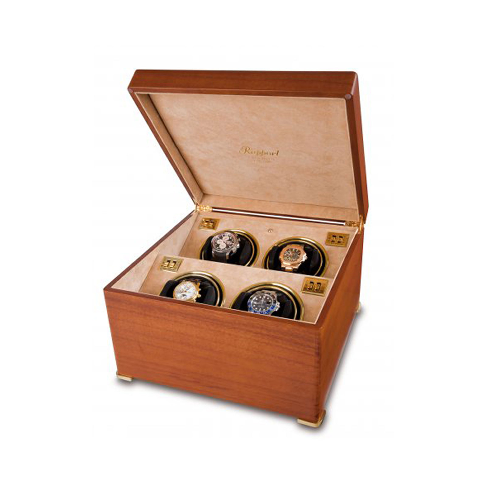 Rapport Satin Quad Watch Winder