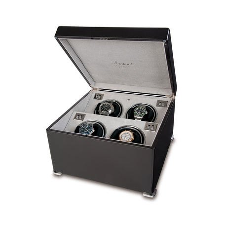 Rapport Ebony Quad Watch Winder