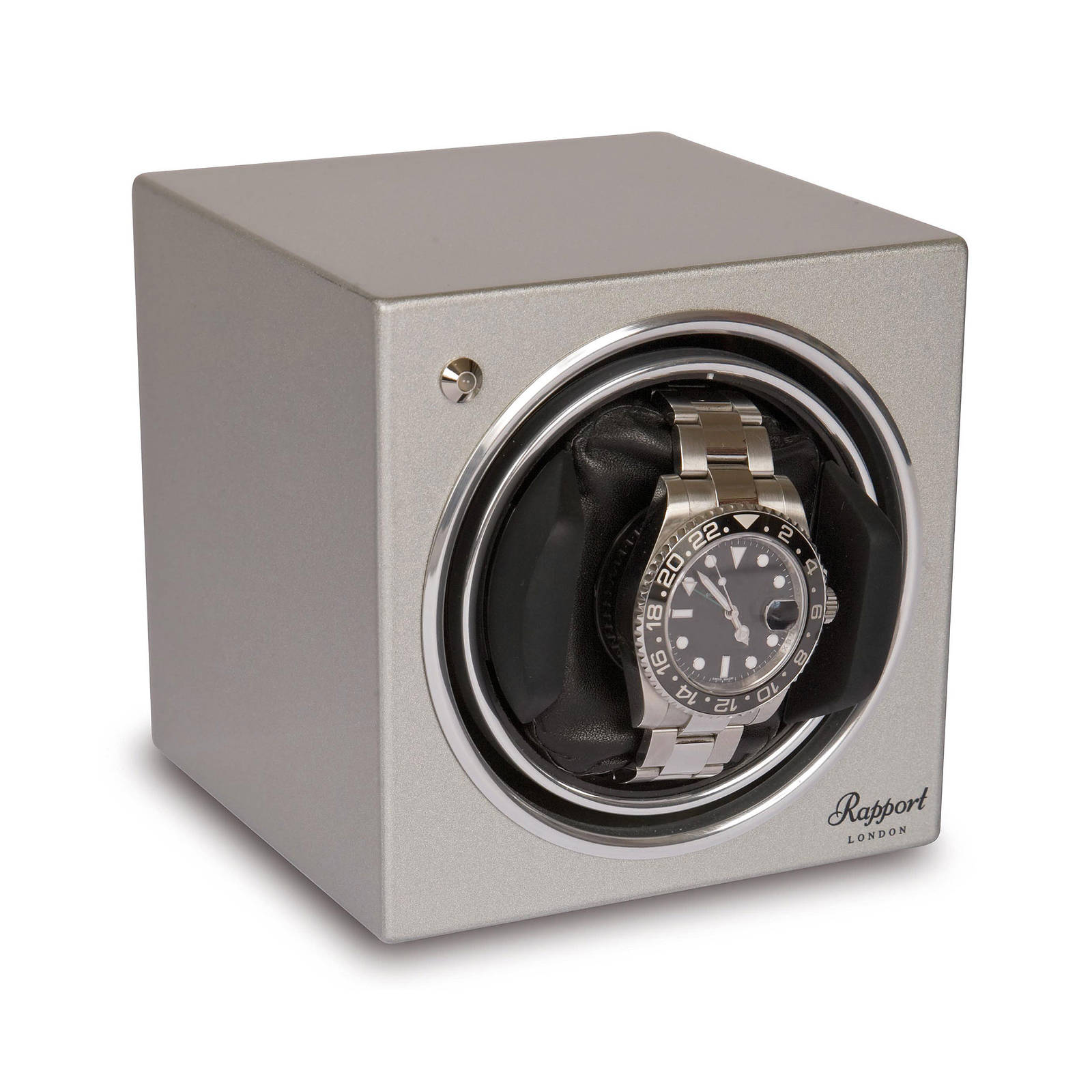 Rapport EVO Watch Winder Platinum Silver
