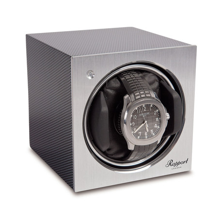 Rapport Tetra Mono Watch Winder Carbon