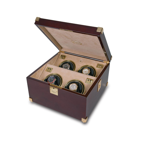 Rapport Captains Quad Watch Winder