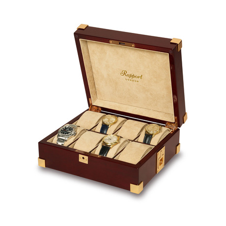 Rapport Captains 8 Watch Collector Box