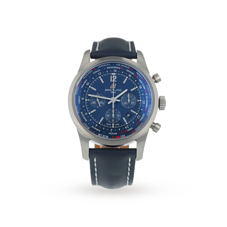 Pre-Owned Breitling Transocean Unitime Pilot