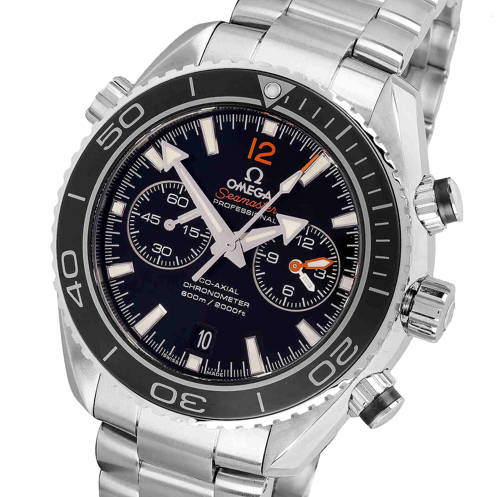 Pre-Owned Omega Planet Ocean Chronograph Mens Watch