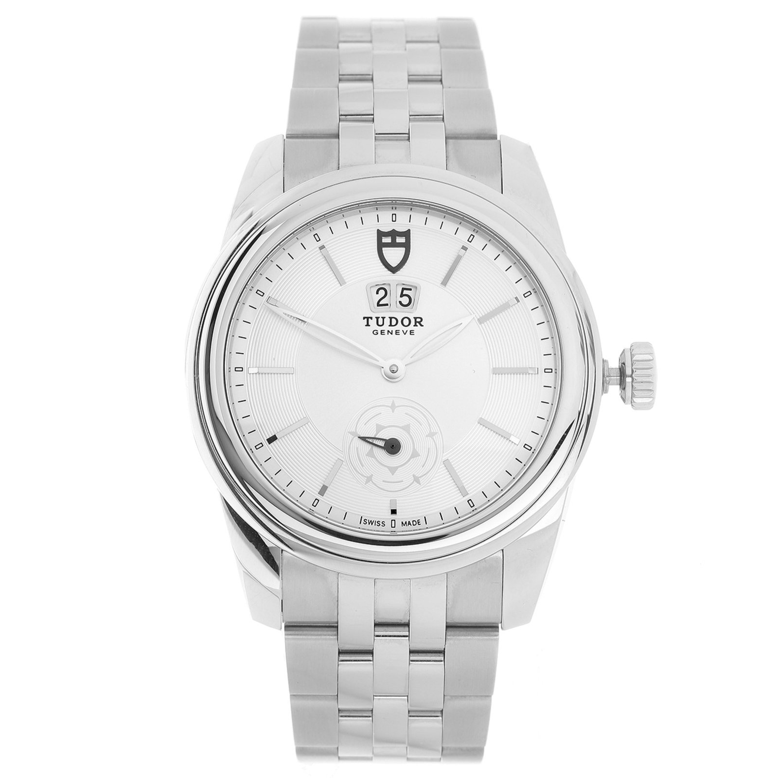Pre-Owned Tudor Glamour Men's Watch, Circa 2014