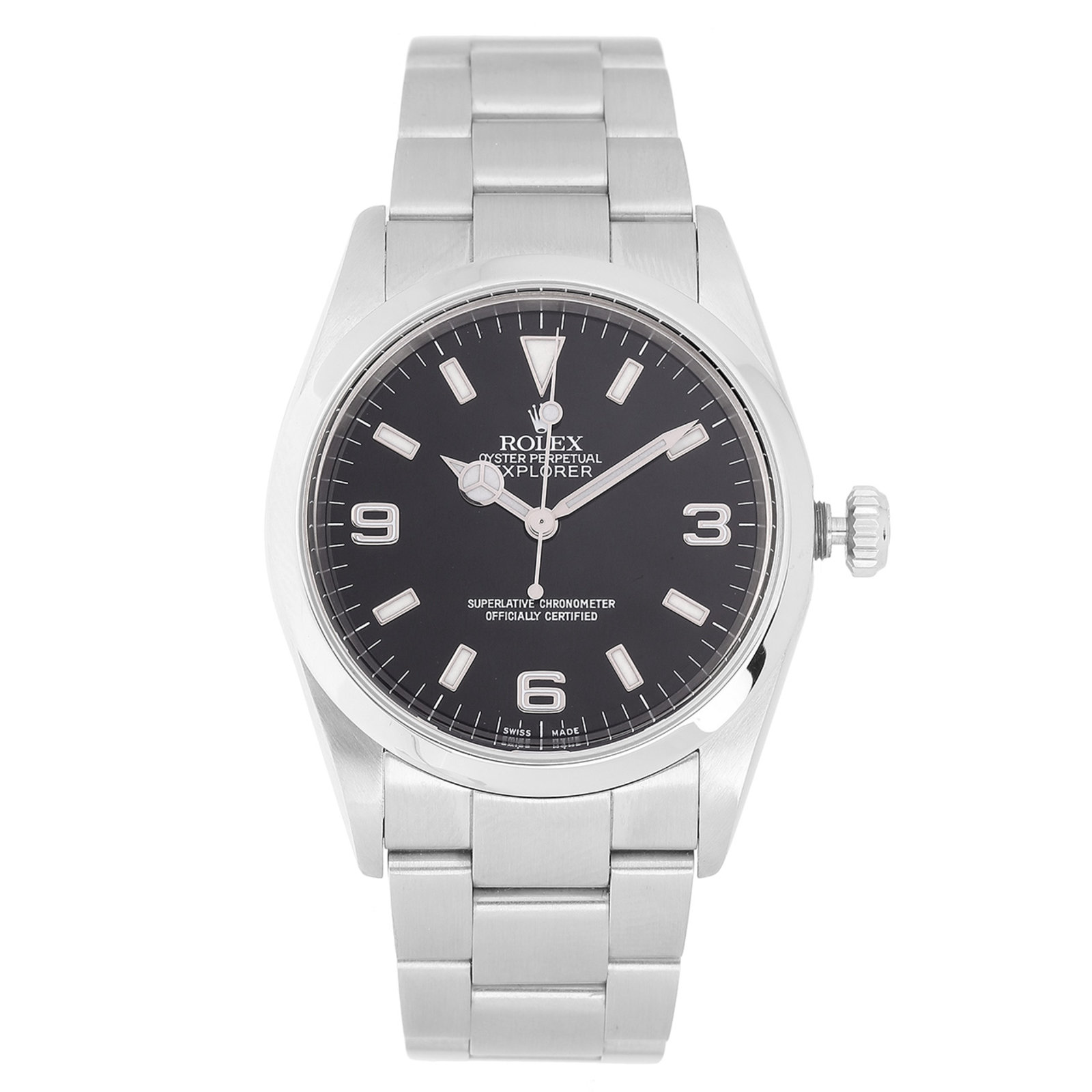 Pre-Owned Rolex Explorer Mens Watch