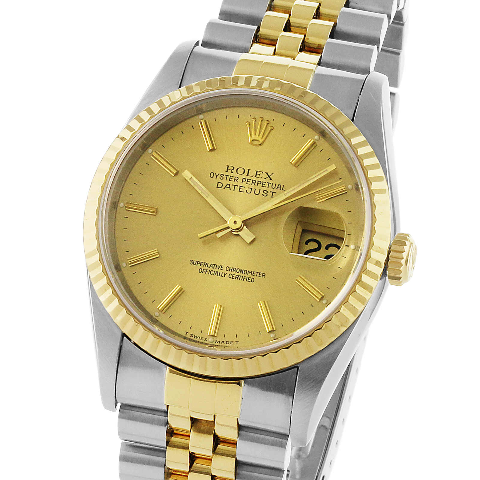 Pre-Owned Rolex Oyster Datejust Mens Watch, Circa 1993.