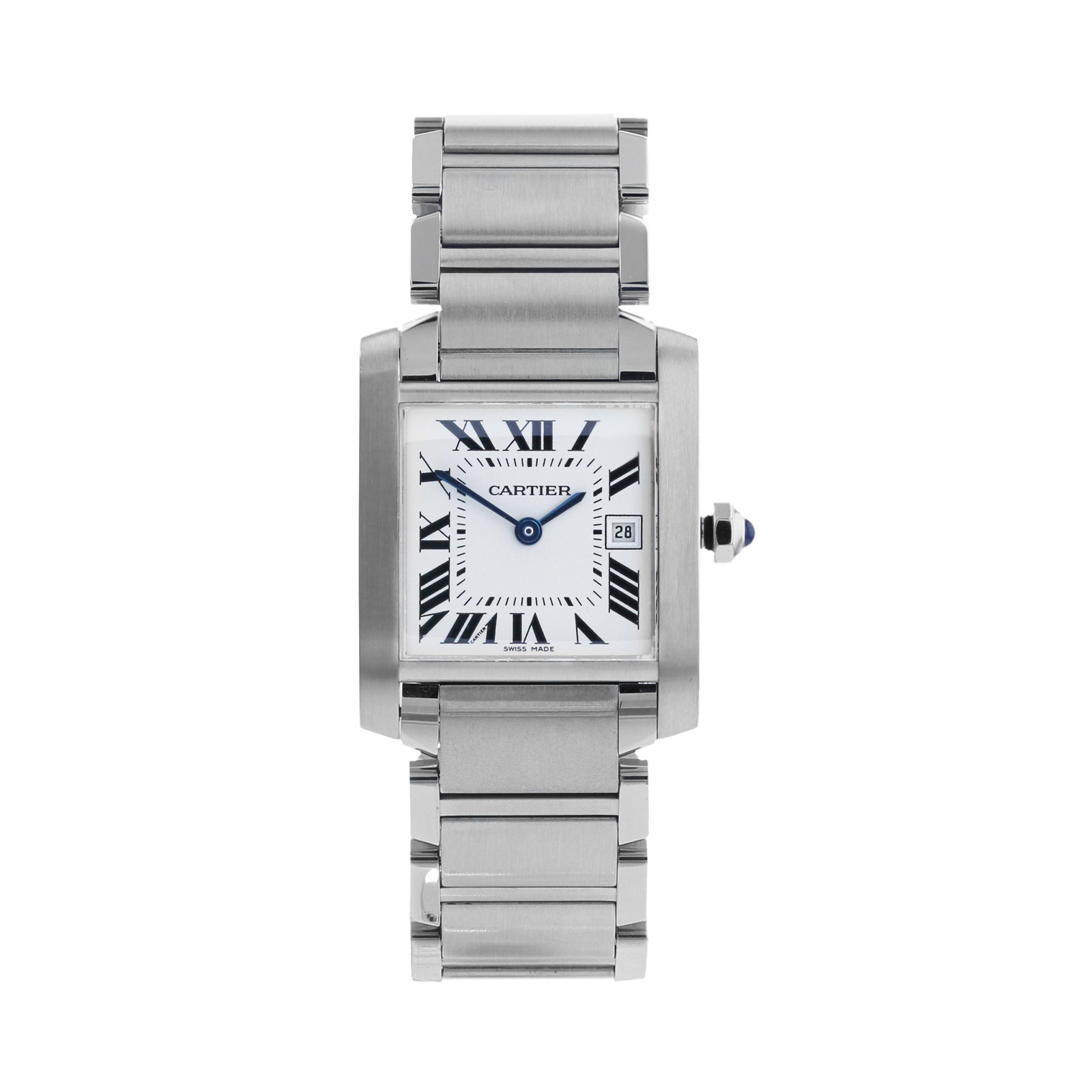 Pre-Owned Cartier Tank Francaise Ladies Watch