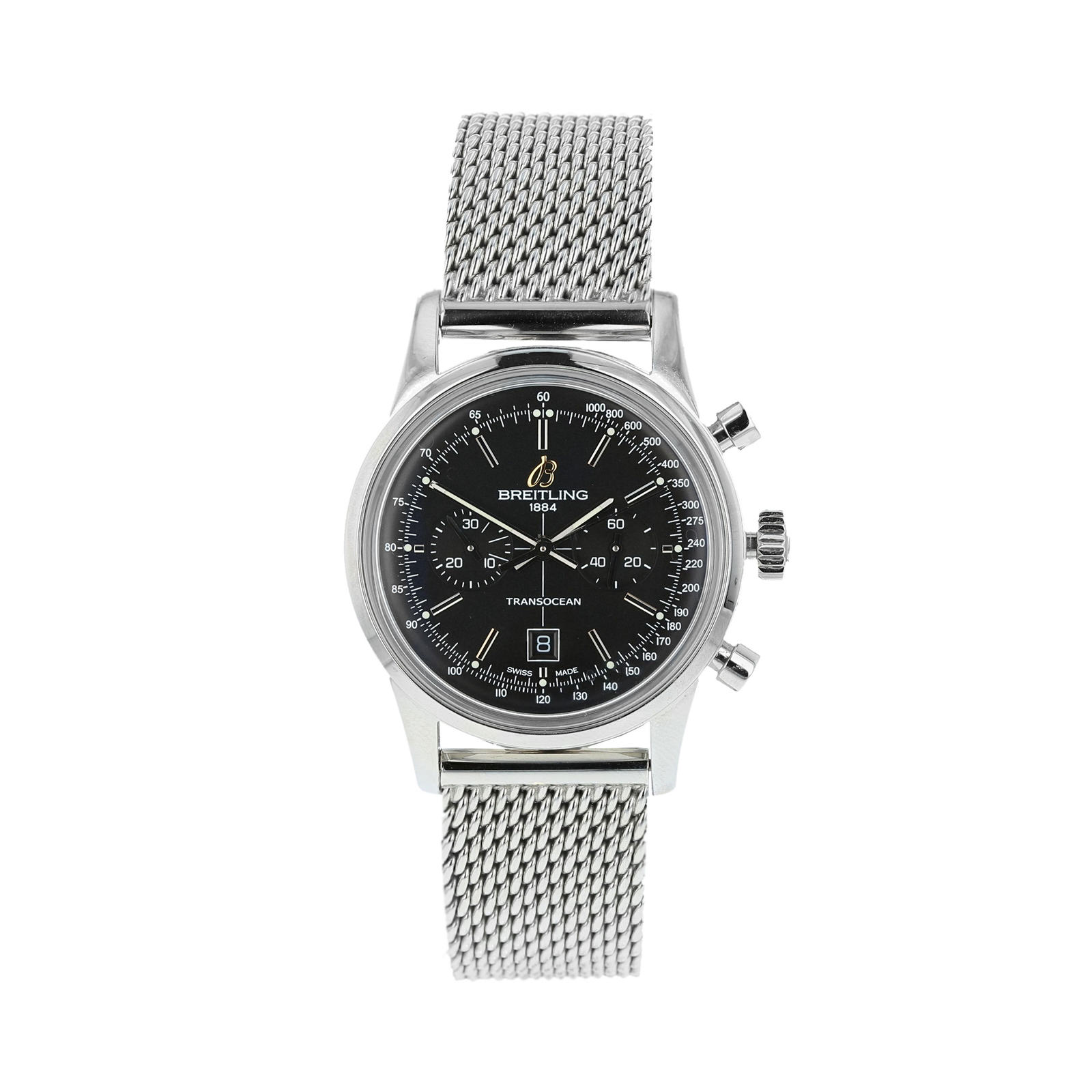 Pre-Owned Breitling Transocean Men's Watch