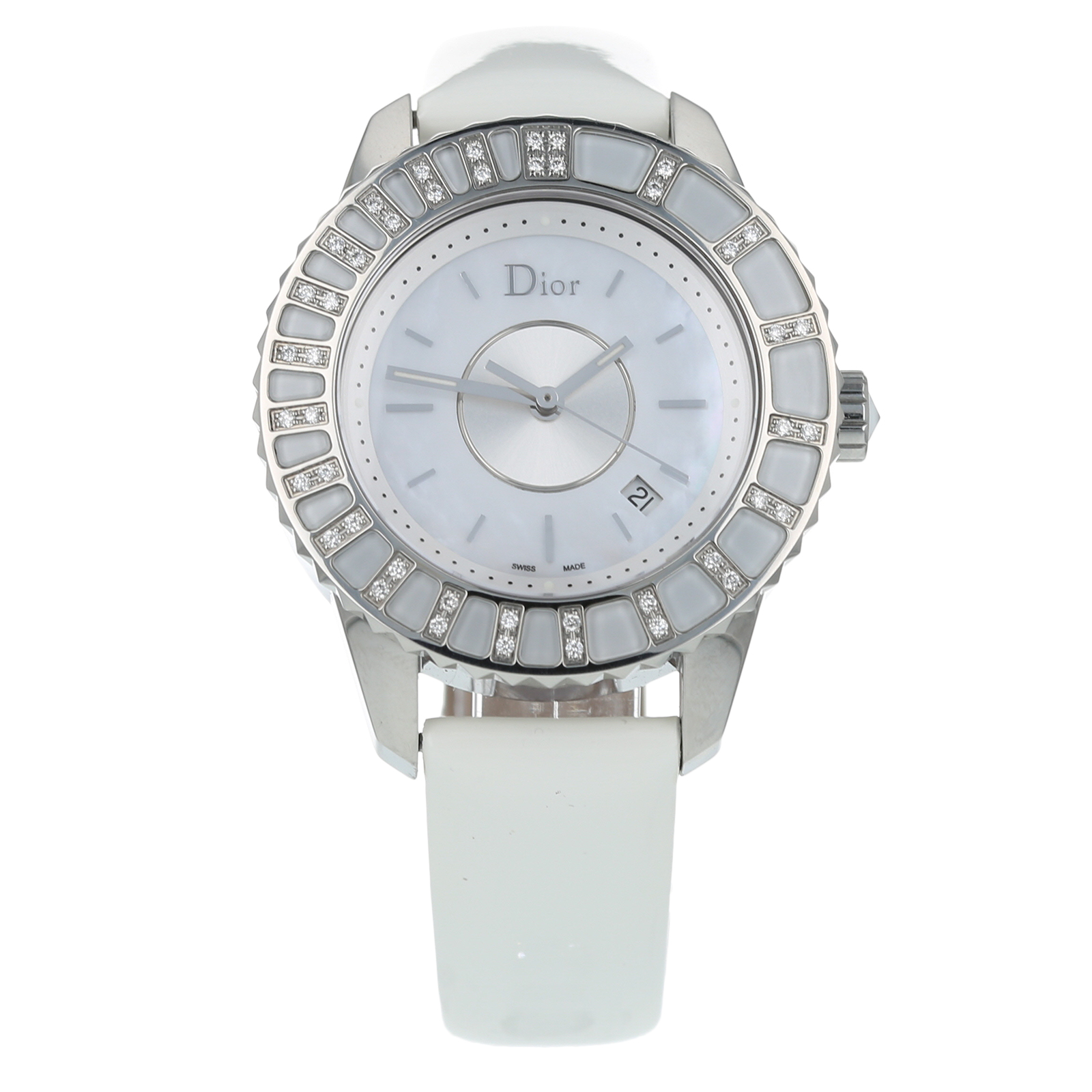 Pre-Owned Dior Crystal Ladies Watch