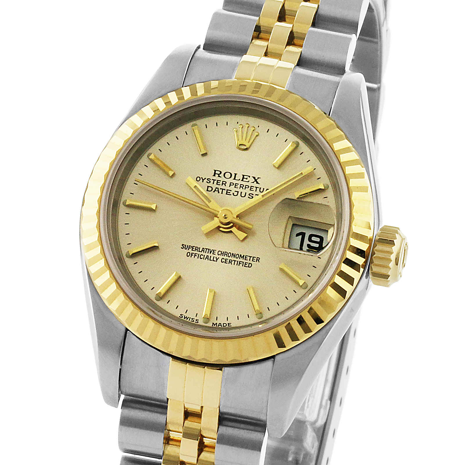 Pre-Owned Rolex Oyster Datejust Ladies Watch, Circa 2001