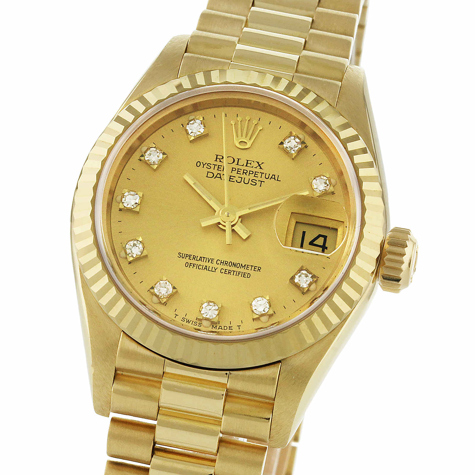 Pre-Owned Rolex Day-Date Ladies Watch, Circa 1981