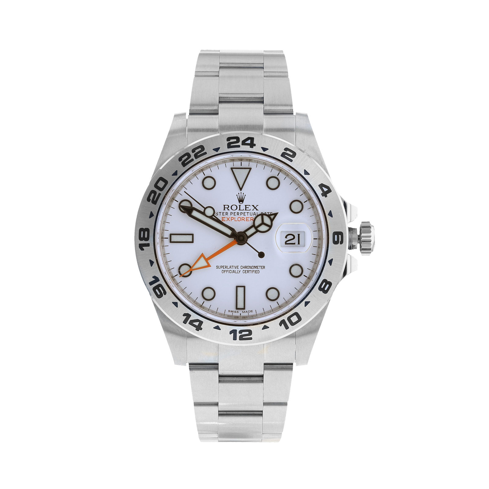 Pre-Owned Rolex Explorer II Mens Watch