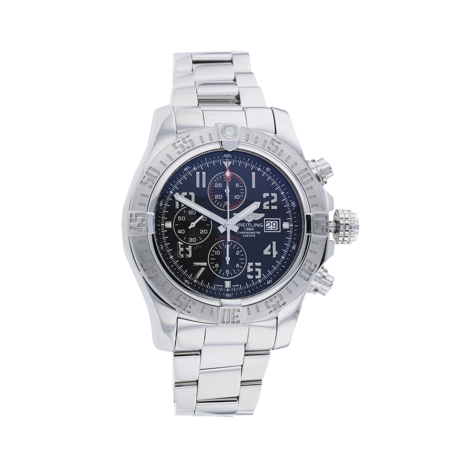 Pre-Owned Breitling Super Avenger Men's Watch, Circa 2014