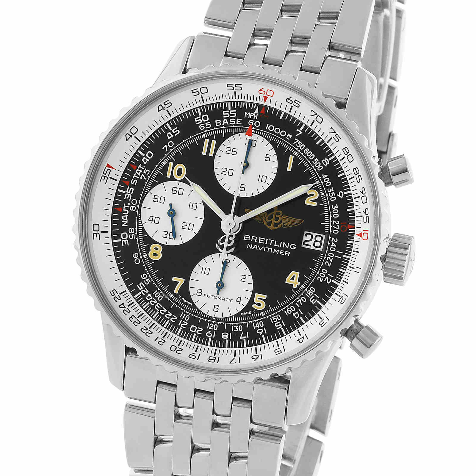 Pre-Owned Breitling Vintage Navitimer II Mens Watch